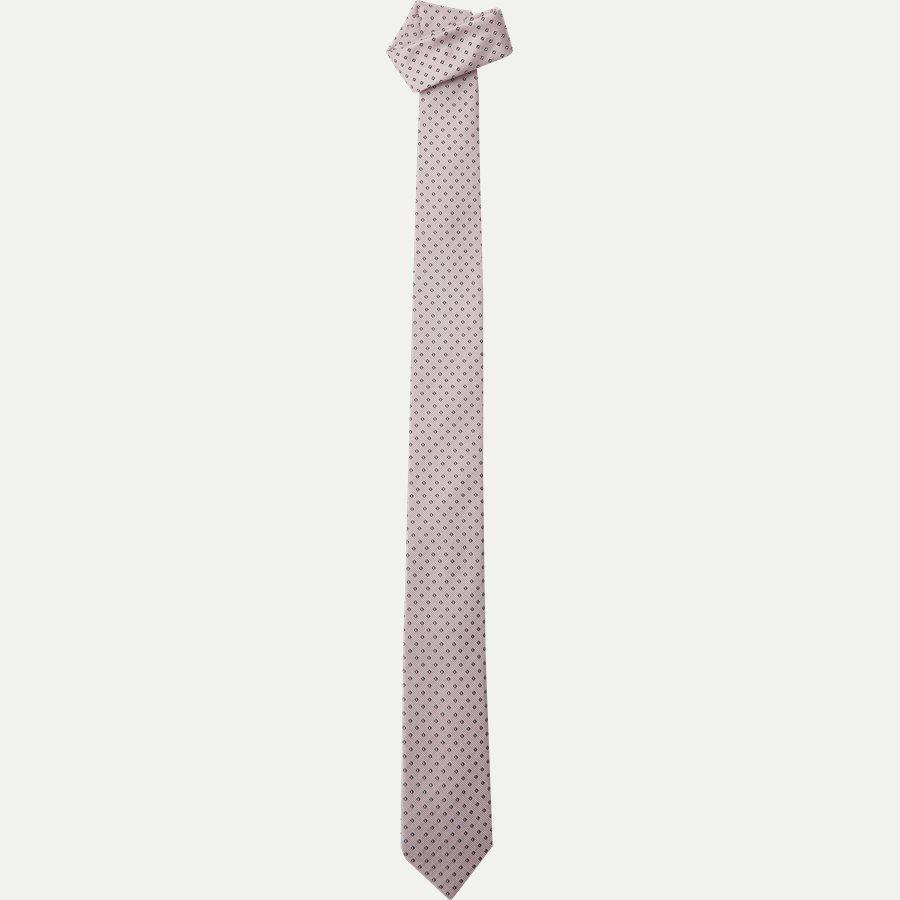 50330055 - Krawatten - LYS RØD - 1
